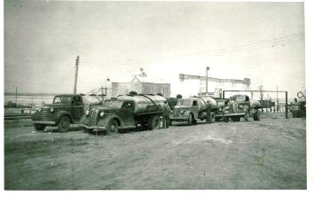 Fuel trucks from the 1940s