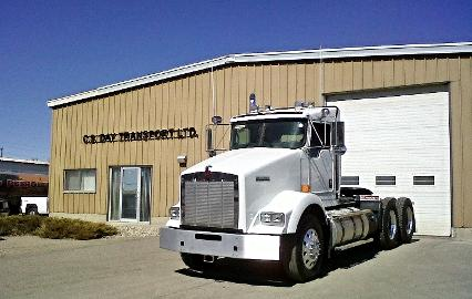 One of C.S. Day Transport's new Kenworth tractors